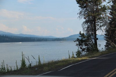 Wagon Wheeler Road viewing North Payette Lake