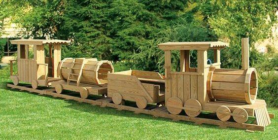 playground design, playground train, imaginative play