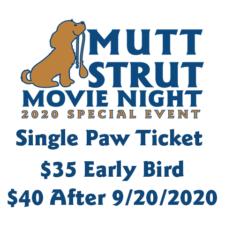 Single Paw Ticket