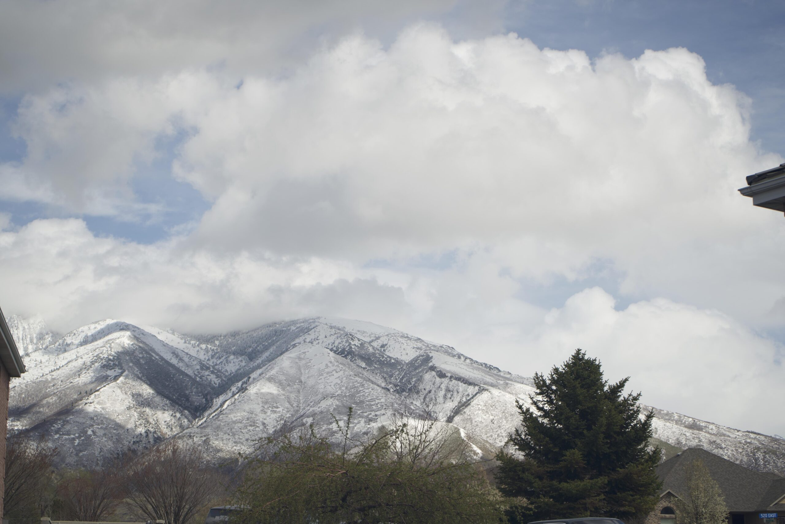 Draper mountain views from Unified Family Therapy office.