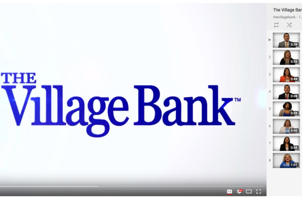 Videos featuring employees of the Bank are hosted on YouTube, and distributed throughout the site.