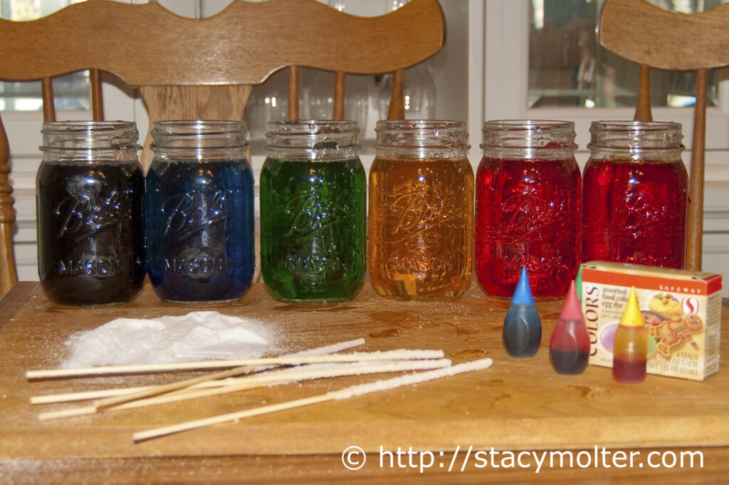 Homemade Rock Candy Recipe