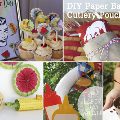 Easy and Fun Labor Day Crafts, Decor Ideas and Printables