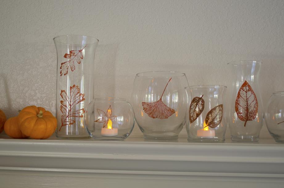 Handpainted Fall Vases #12MonthsOfMartha