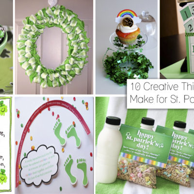 10 Fun and Creative Things to Make for St Patricks Day