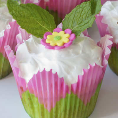 Coconut Surprise Key Lime Cupcakes Recipe