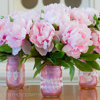 Mother's Day DIY Mason Jar Flower Bouquets