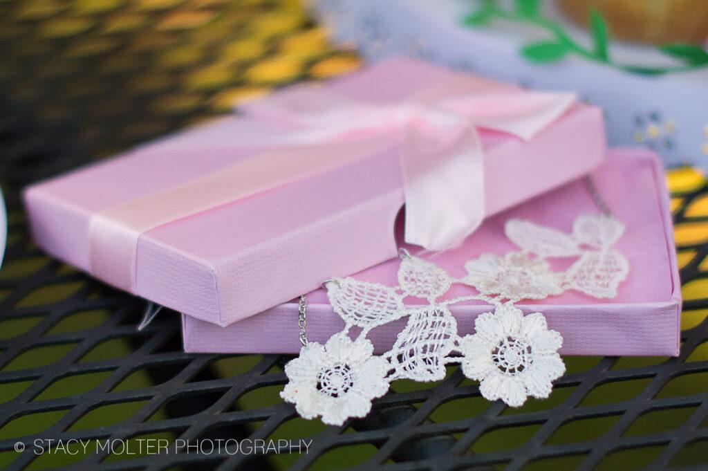 Elegant Floral Lace Necklace