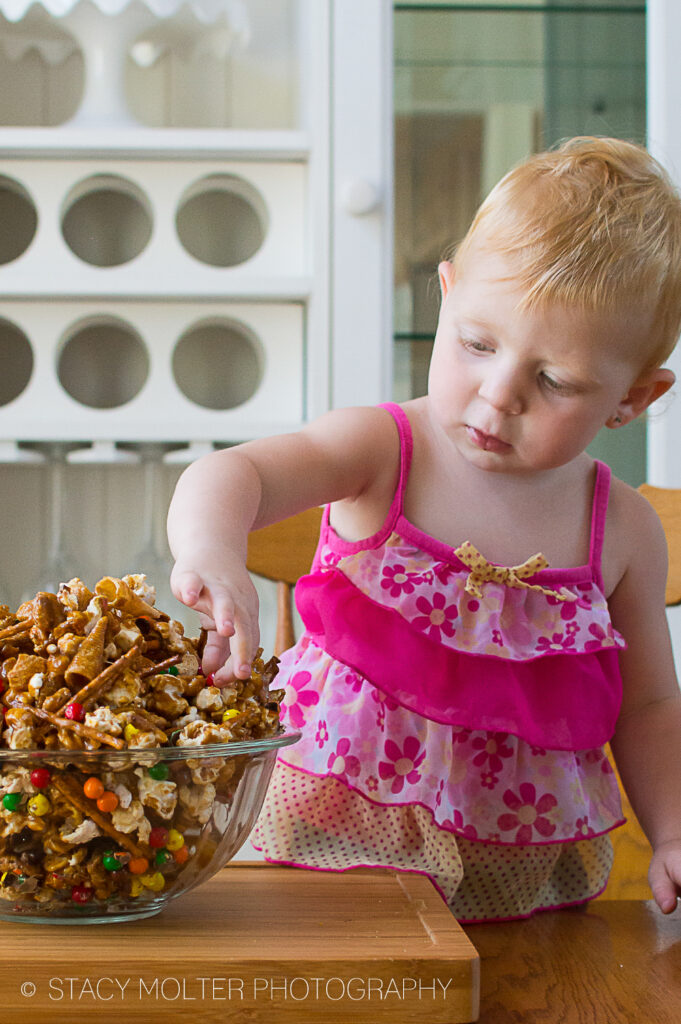 Nut Free Crunchy Sweet and Salty Party Mix