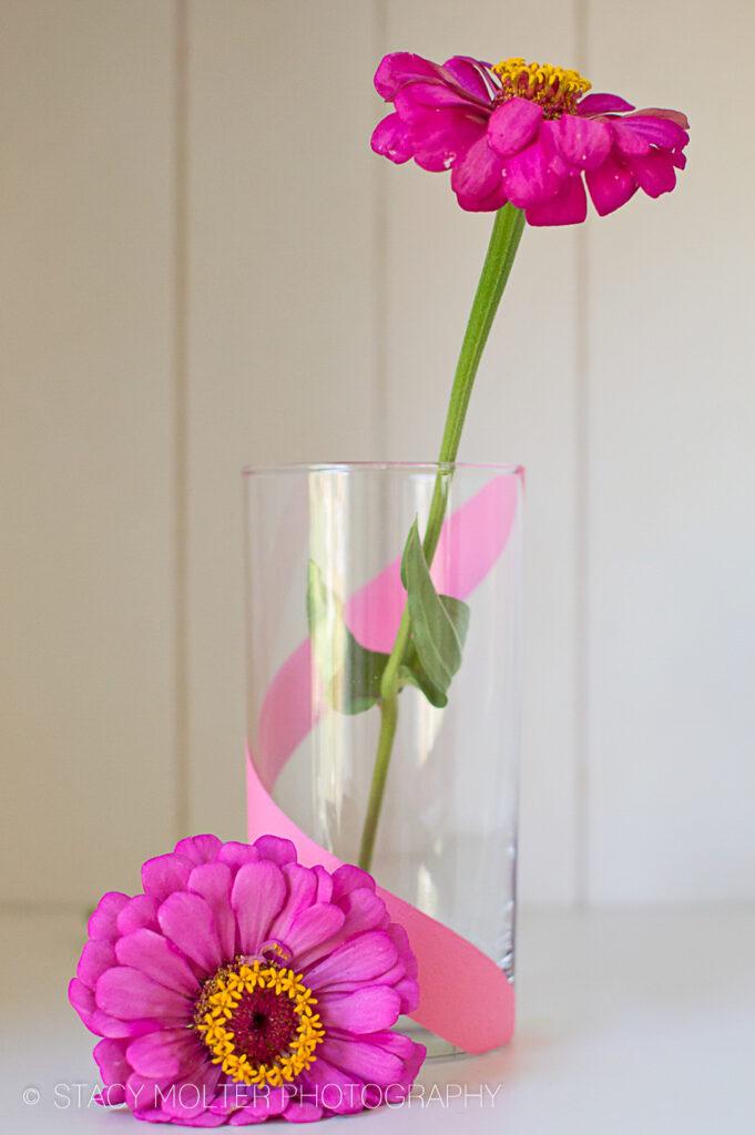 DIY Painted Vases #12MonthsOfMartha