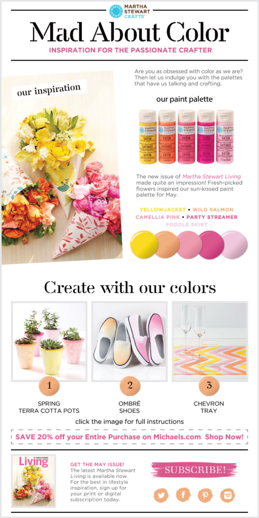 Mad About Color - Martha Stewart Inspiration for the Passionate Crafter