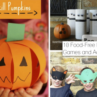 10 Food-Free Halloween Party Games and Activities