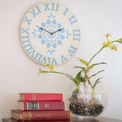 DIY Vintage Decor Clock