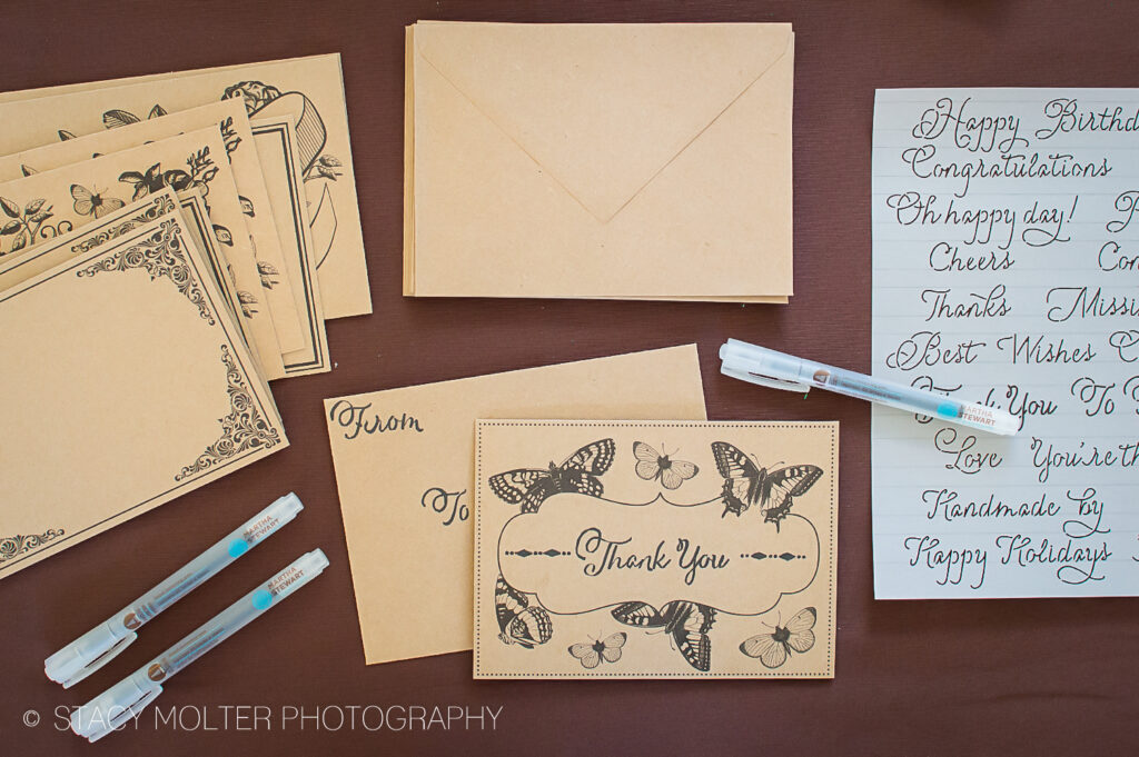 Martha Stewart Hand Lettering Kit