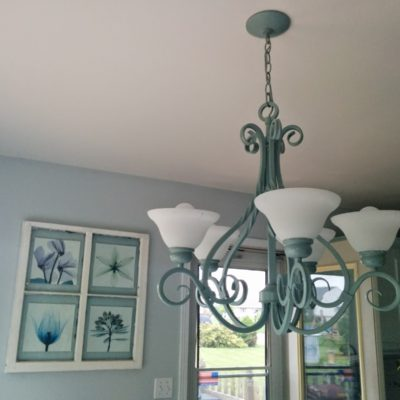 DIY Ceiling Light Makeover: From Tuscan Style to Coastal
