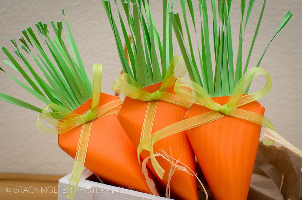 DIY Easter Carrot Treat Box