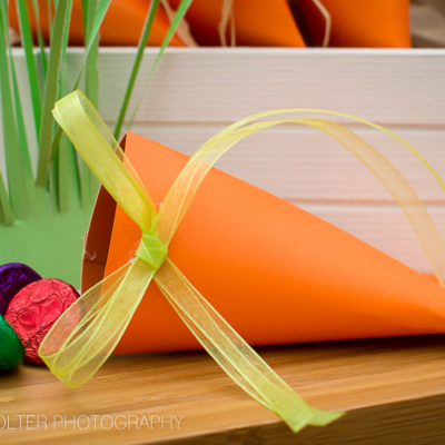 Easter Carrot Treat Box Favors