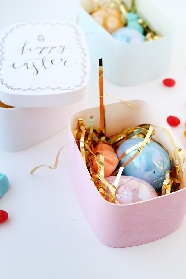 Easter Candy Idea: Easter Candy Nests!