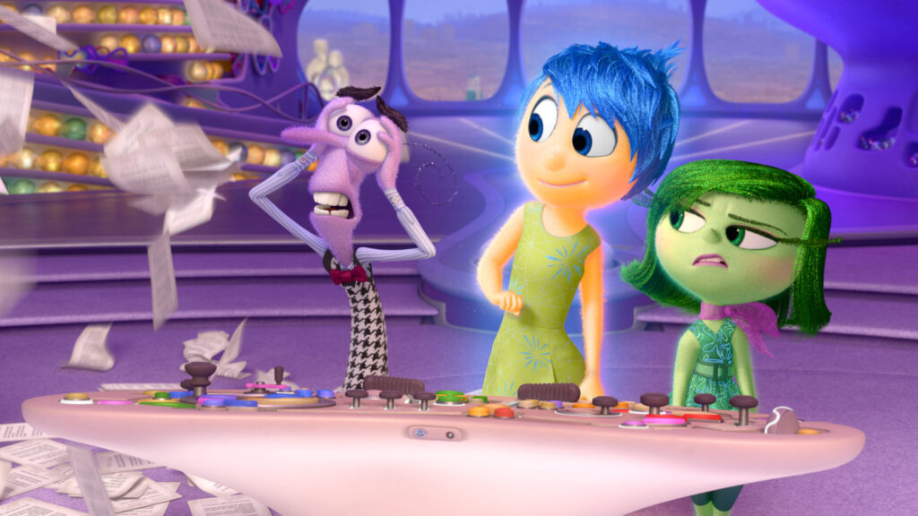 Pixar Inside Out Director Pete Docter and Producer Jonas Rivera