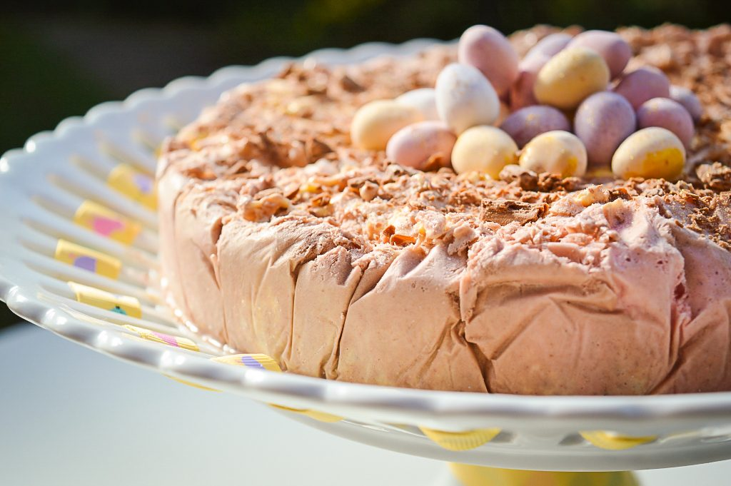 Easter Ice Cream Cake Recipe