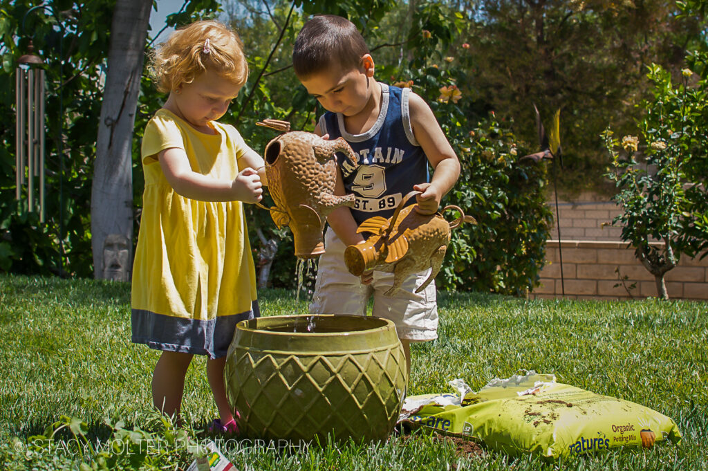 How to Plant n Herb Garden with Kids