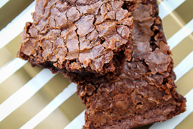 The Perfect Brownie Recipe