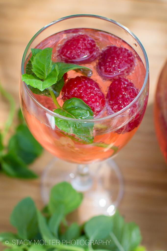 Pink Raspberry Champagne Sangria Recipe