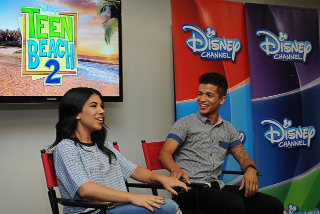 Teen Beach 2 Interview: Stars Chrissie Fit and Jordan Fisher