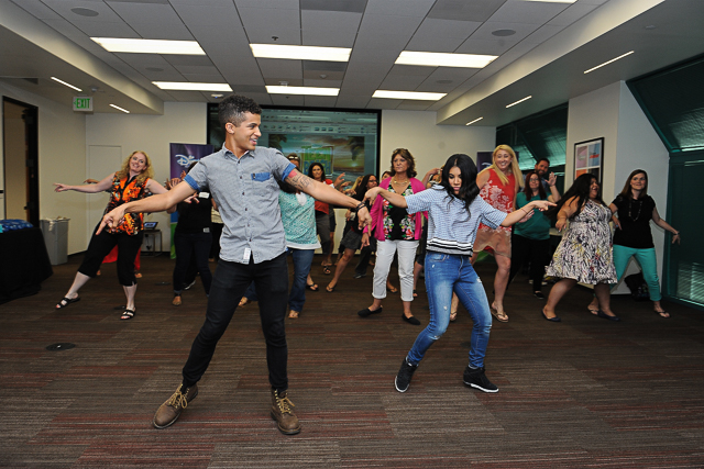 Teen Beach 2 Press Event and Choreography Lesson