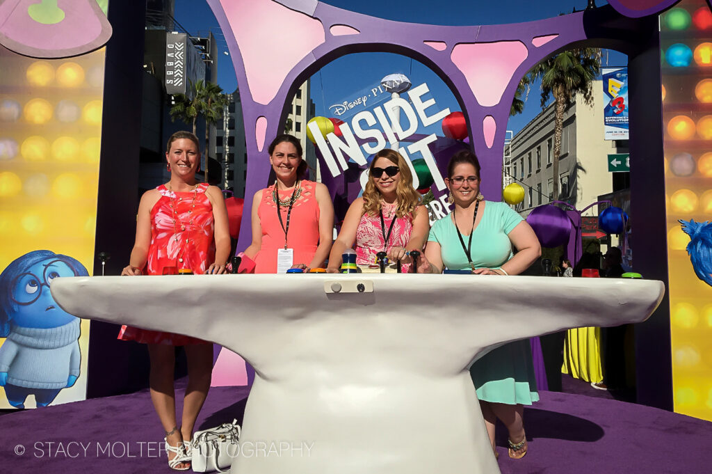 Inside Out Hollywood Premiere Event