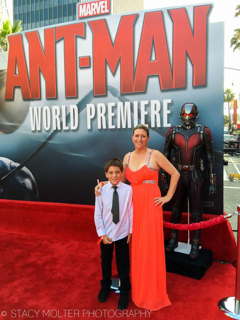 MARVEL Ant-Man Premiere Red Carpet Event