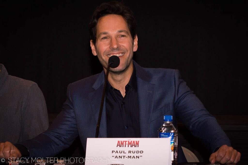 MARVEL Ant-Man Press Conference