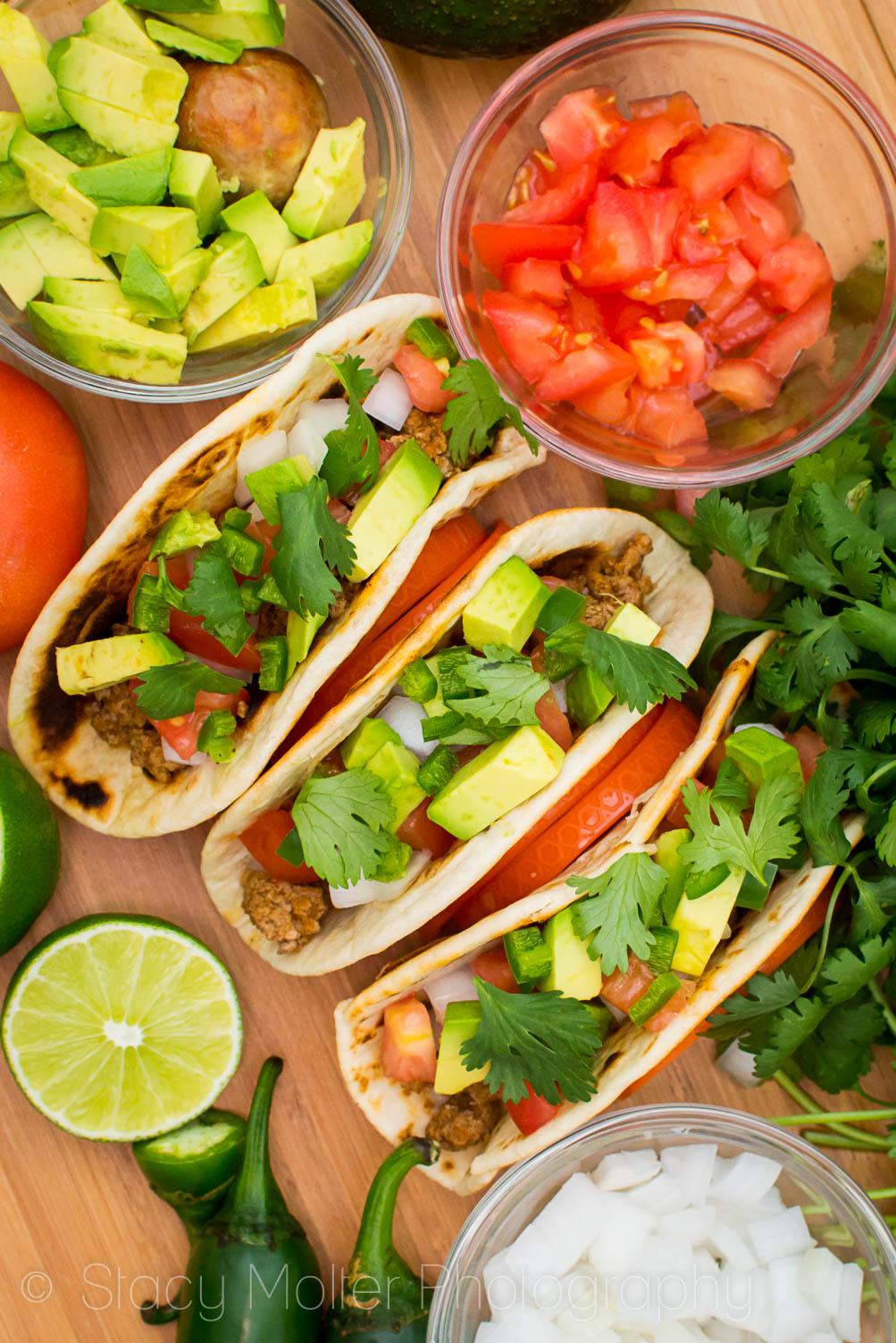 Garden Fresh Turkey Taco Recipe