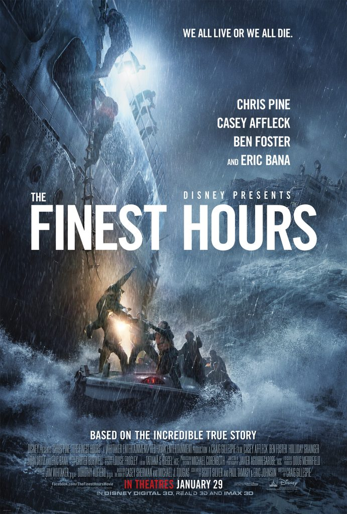 The Finest Hour - New Trailer and Free Printable Poster