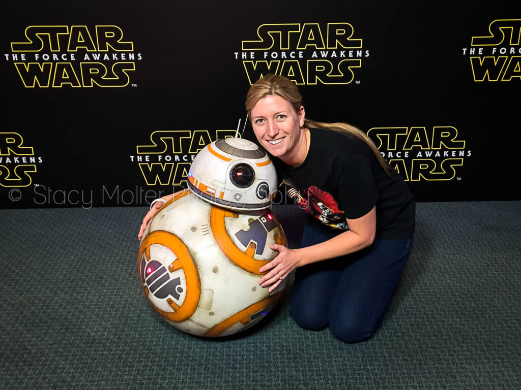 Behind the Scenes at the Star Wars: The Force Awakens Press Conference