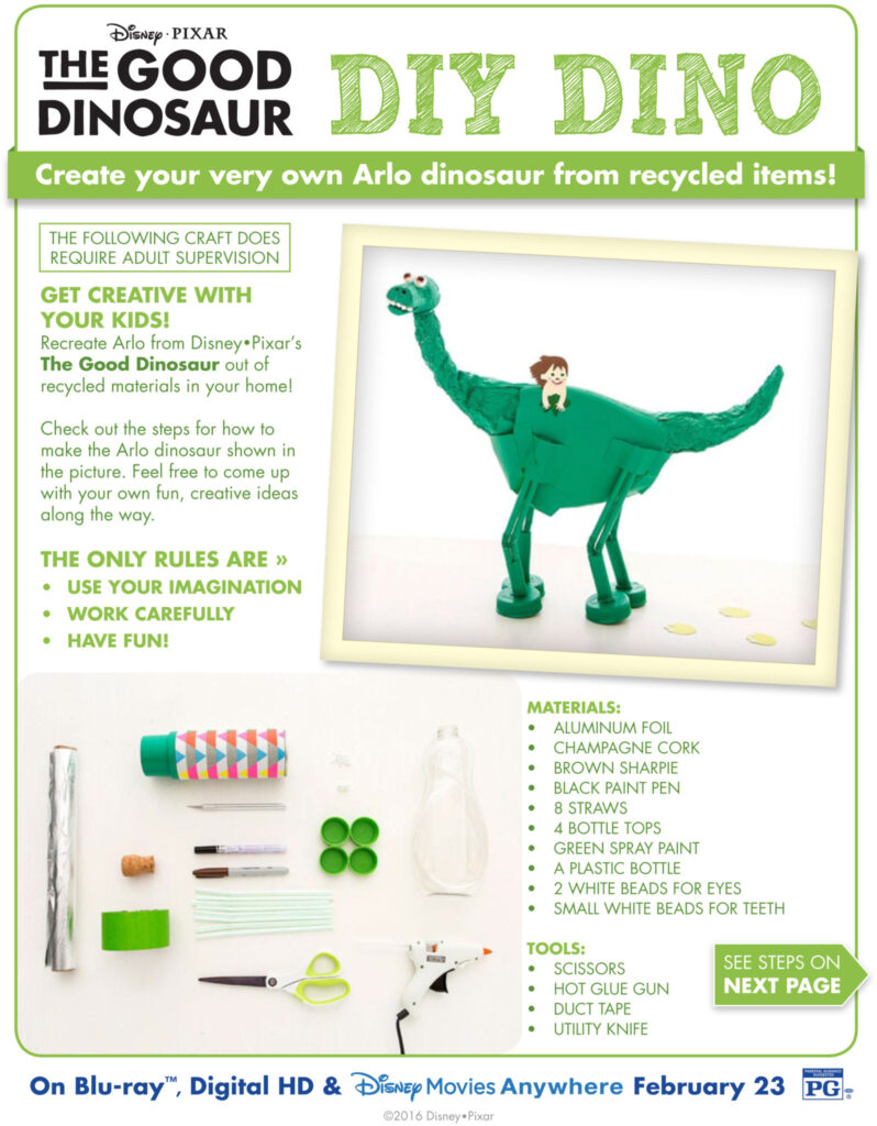 THE GOOD DINO Recyclosaurus Contest