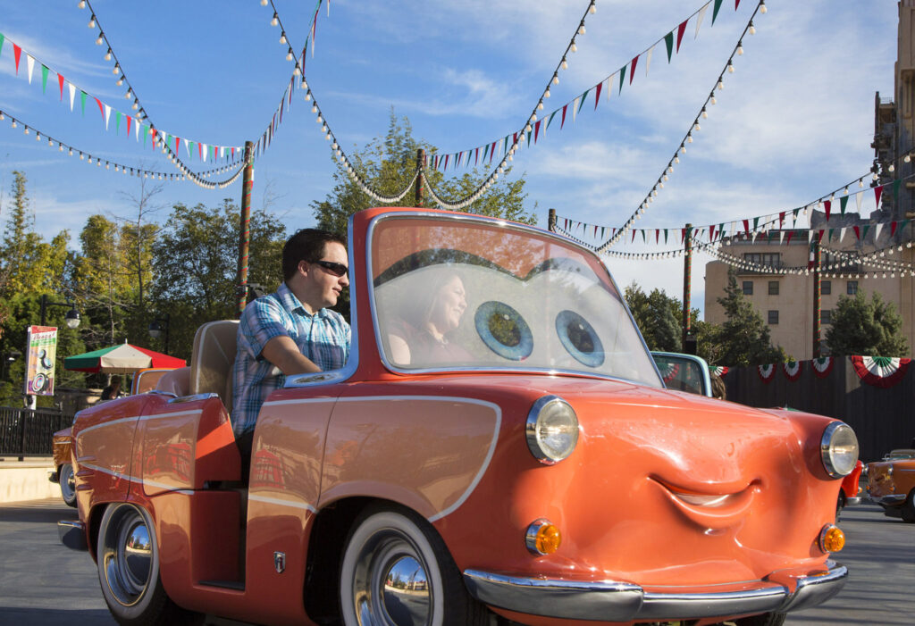 Luigi's Rollickin' Roadsters to Open March 7 at Disney California Adventure Park
