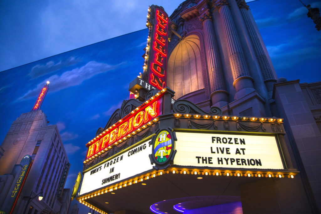 Frozen – Live at the Hyperion Opens May 27, 2016, at Disney California Adventure Park