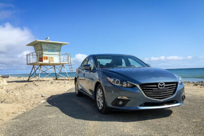Mother's Day Pacific Coast Highway Road Trip in the Mazda M3