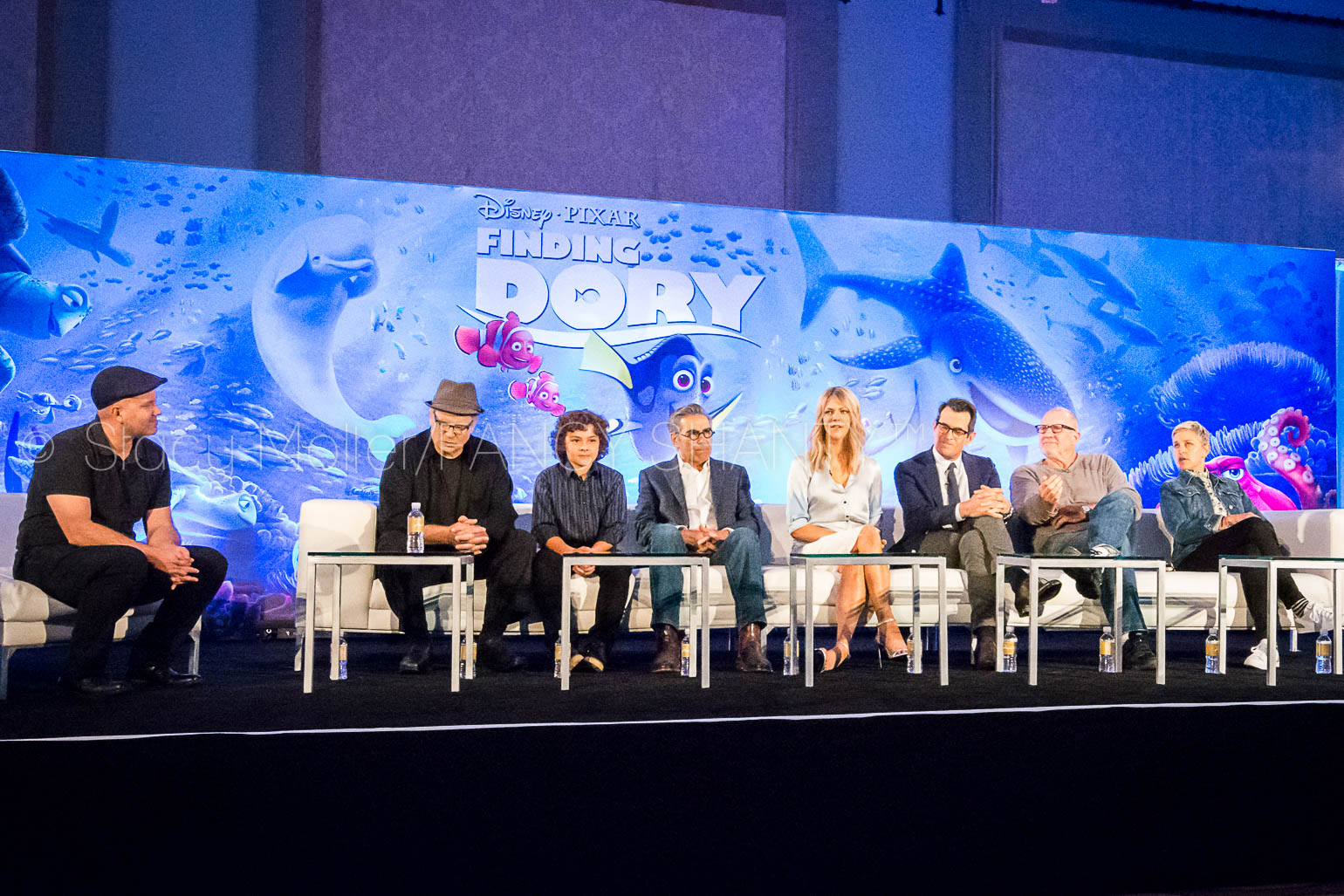 Finding Dory Cast Interviews