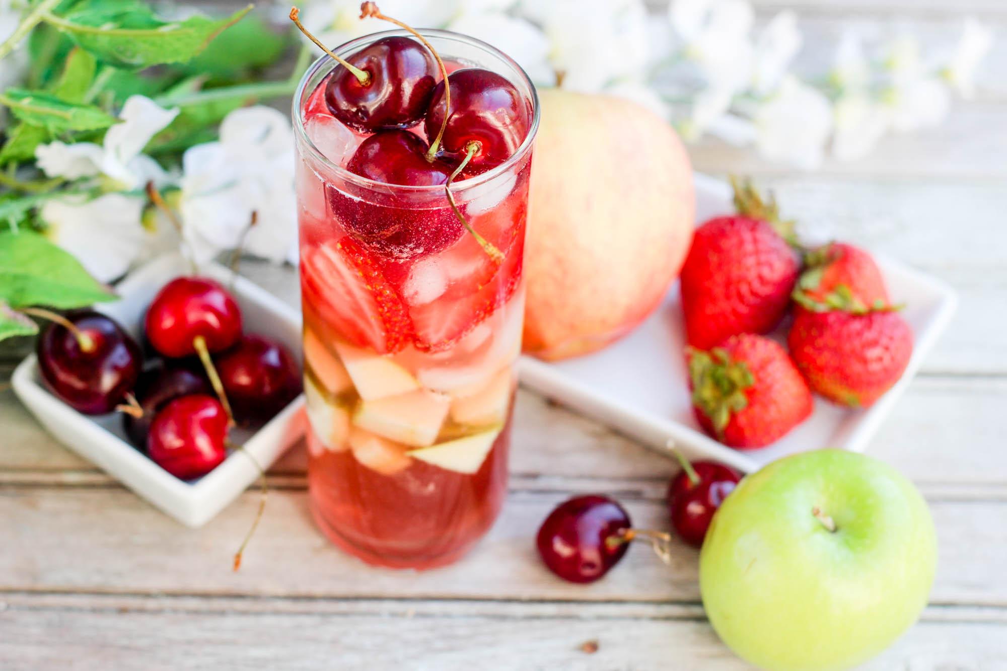 Kombucha Tea & Vodka Sangria Recipe