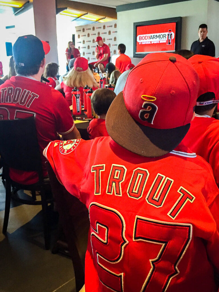 BODYARMOR Meet & Greet with Los Angeles Angels Mike Trout