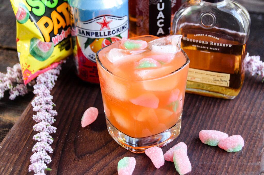Sour Patch Bourbon Cocktail