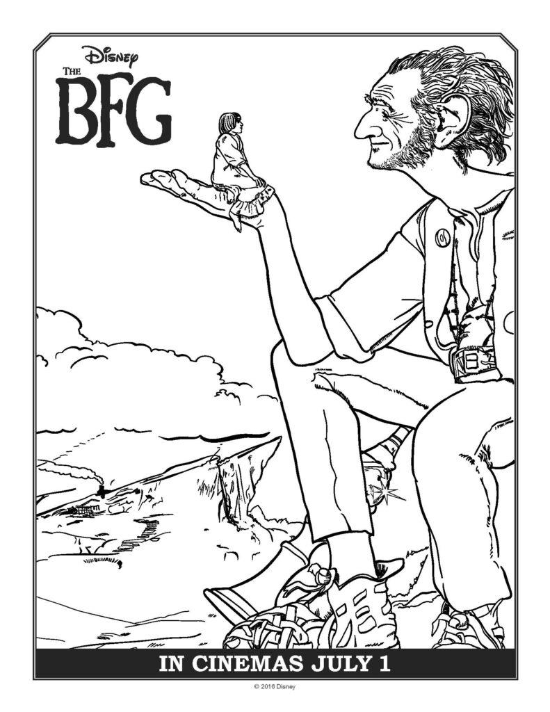 The BFG Activity Sheets