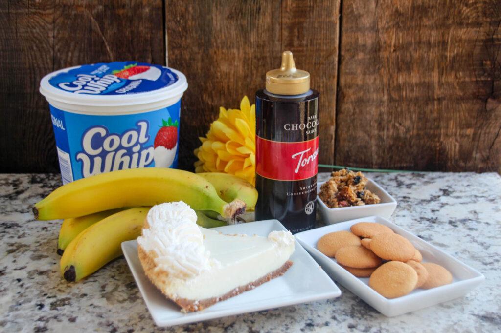 Chocolate Banana Cream & Key Lime with Granola