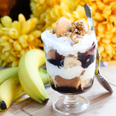 Chocolate Banana Cream & Key Lime with Granola