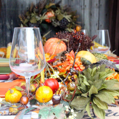 Easy DIY Thanksgiving Tablescape Ideas