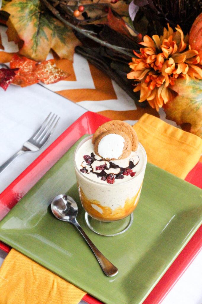 Ginger Snap & Caramel Mini Shake