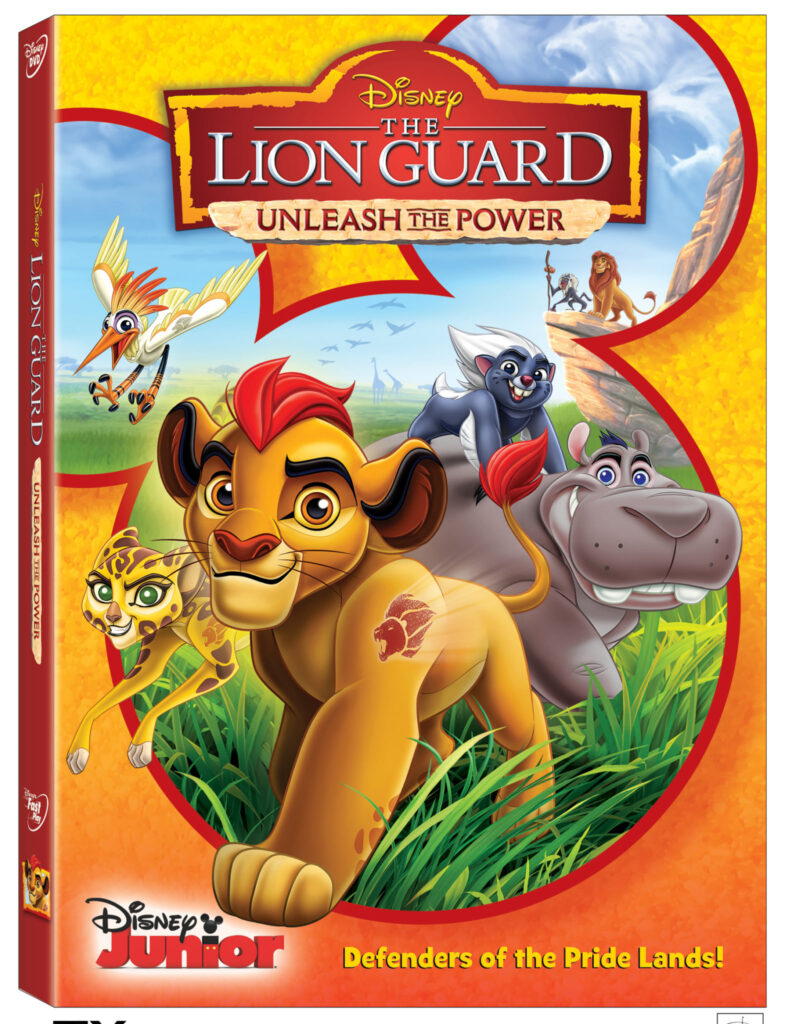 Unleash the Power of the Lion Guard on DVD