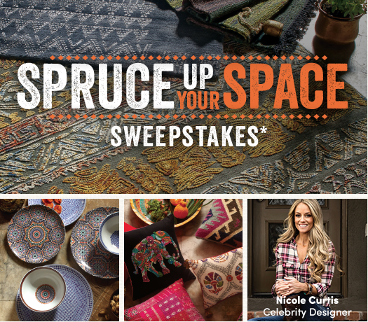 Cost Plus World Market's Spruce Up Your Space Sweepstakes